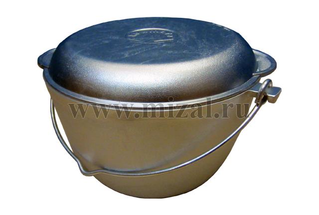 Казан с крышкой-сковородой 4 и 5 литров